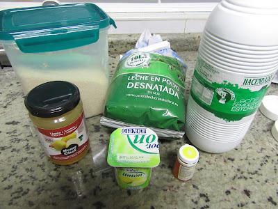Yogures de limón (Thermomix, tradicional y olla GM).