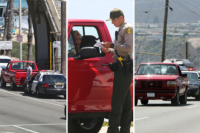 Two Weeks After Getting Her Driver's License Lady Gaga Gets Pulled Over by Police