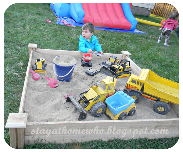 Stay At Home Who?: Construction Birthday Party