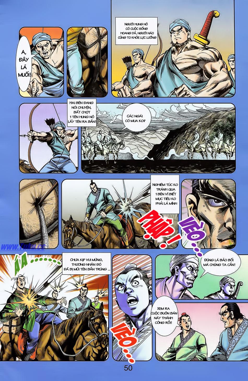 Tần Vương Doanh Chính chapter 4 trang 21