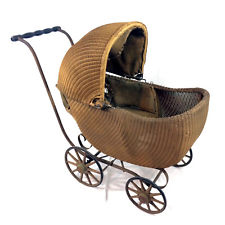 wicker 1910 baby carriage