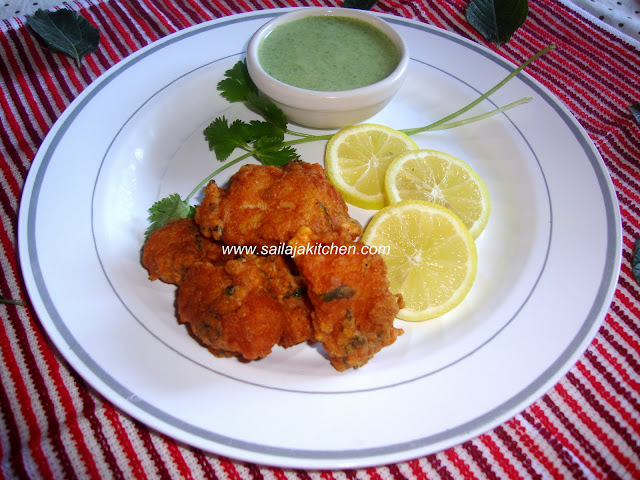 image of Fish Pakora Recipe / Indian Style Battered Spicy Fish Pakora