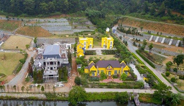 Những tổ hợp nghỉ dưỡng, du lịch vẫn tiếp tục mọc lên trên địa bàn huyện Sóc Sơn