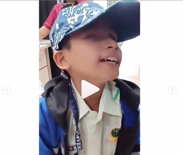 Meski Tunanetra Anak Kecil Ini Diberi Kuasa Allah Hafal 30 Juz Al Quran