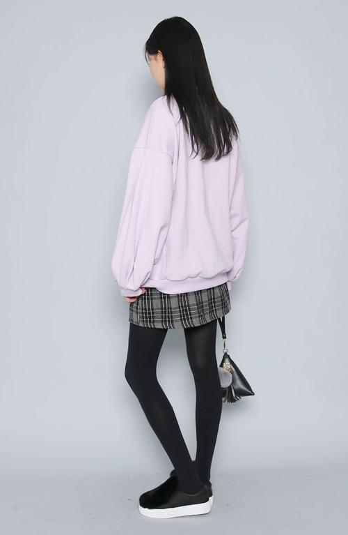 Plaid Check A-Line Skirt