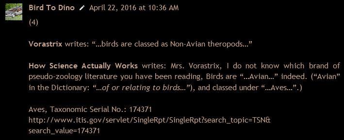 Bird Dinosaur Myth
