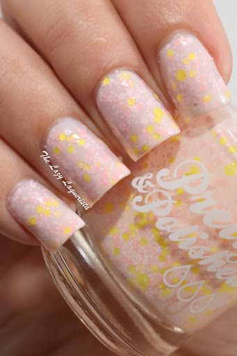 Pretty & Polished Strawberry Lemon Ice Swatch