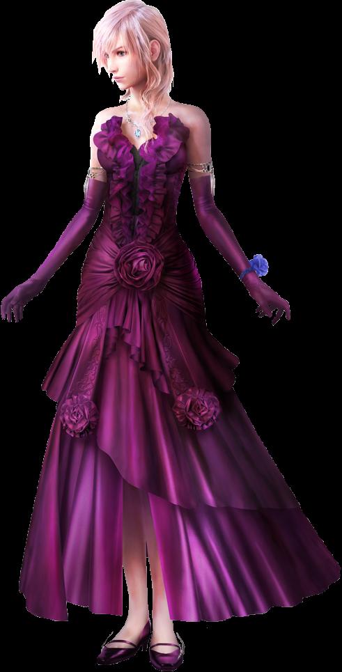 lightning returns cosplay final fantasy xiii midnight mauve official art