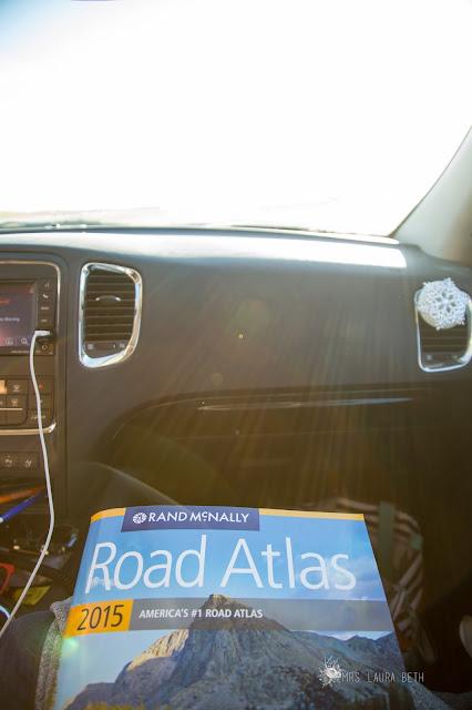 road trip, atlas, map