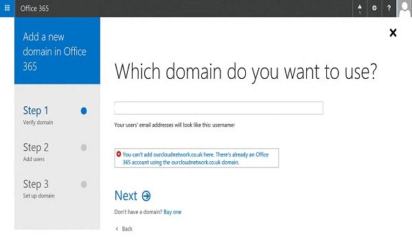 """How to troubleshoot """"Can't Verify Domain"""" error in Office 365?"""
