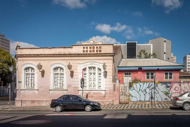 Casa na esquina da Augusto Stellfeld com Ébano Pereira