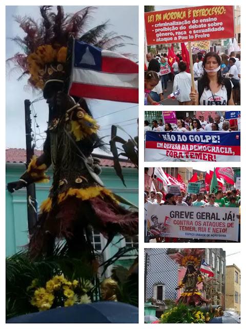Dois de Julho, dia de reverenciar os heróis da independência e de protesto em Salvador