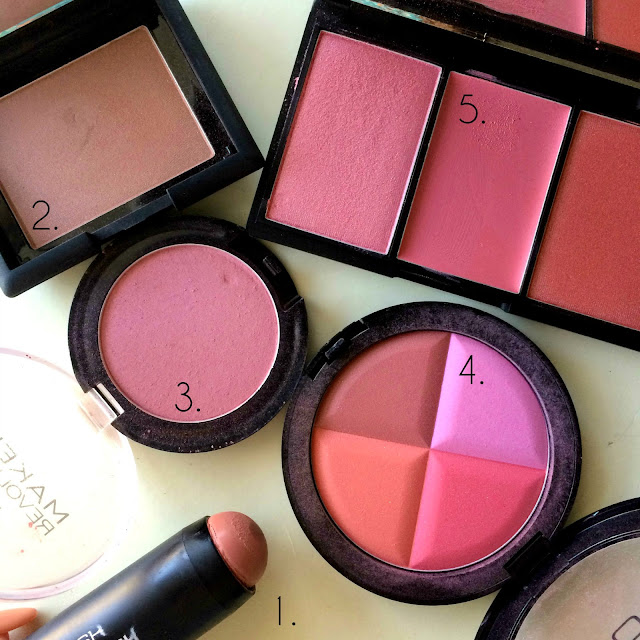 My Top 5 Blushers All £10 or Under