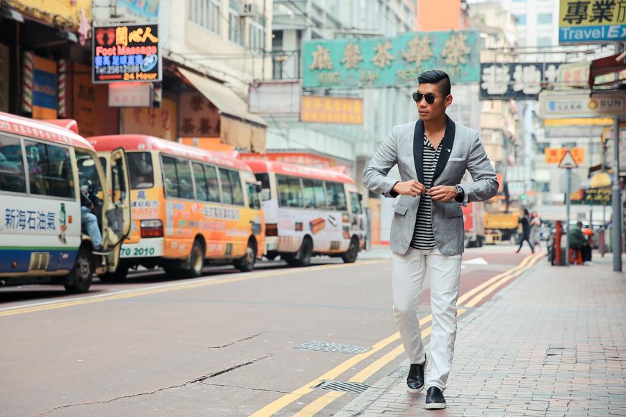 Leo Chan, Levitate Style, menswear, Hong Kong, Casual Tuxedo