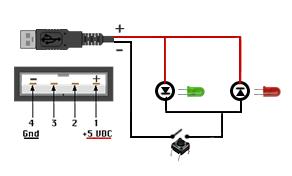USB Frontal Teste
