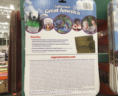 Costco 1138998 - 2017 Great America Gold Pass: great for kids and adults this summer