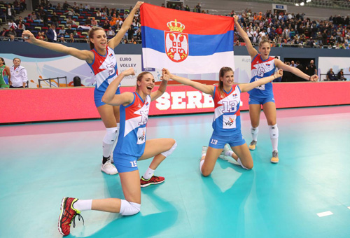 campeonato europeu vôlei feminino Holanda