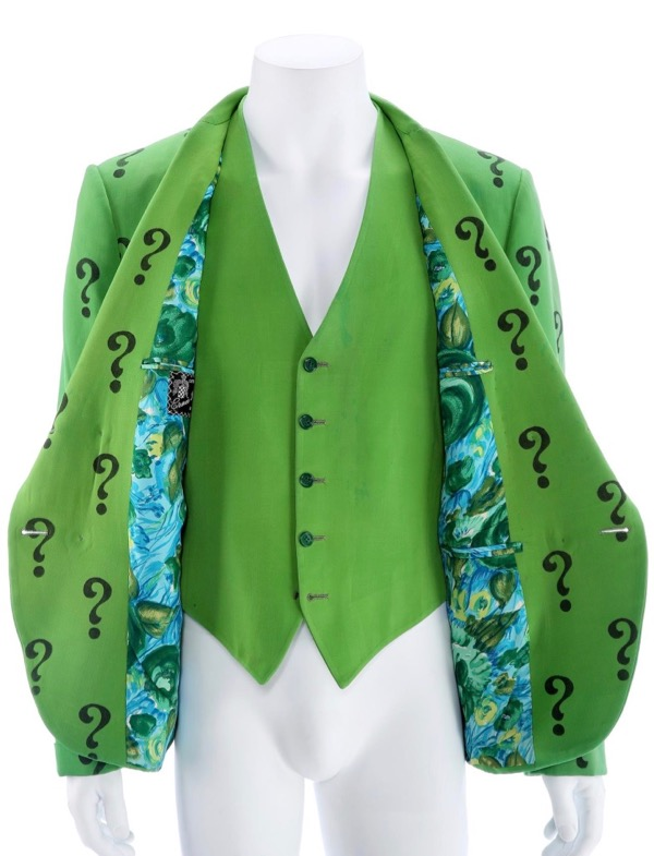 Frank Gorshin Riddler jacket vest Batman