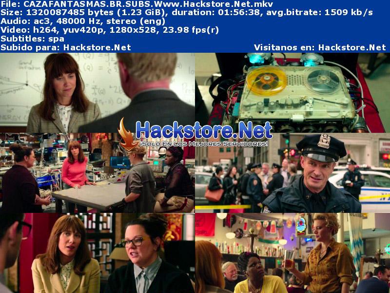 Capturas de Cazafantasmas (2016) Blu-Ray RIP HD Subtitulada