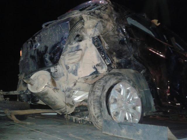 Acidente grave na BR 319 quase mata vereador e de outras três pessoas