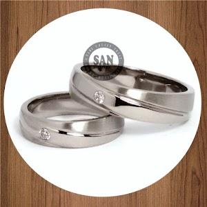 cincin emasputih paladium P32V