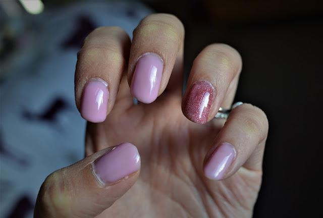 Sensationail Swatch Pink Chiffon