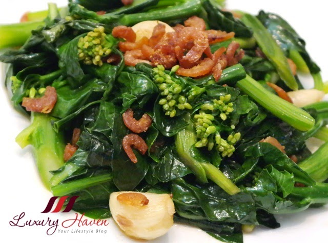 stir fry kailan with oyster sauce hebe recipe
