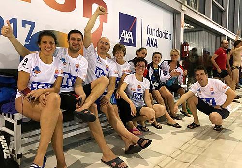 El nataci n aranjuez en la liga master de madrid for Piscina valdesanchuela