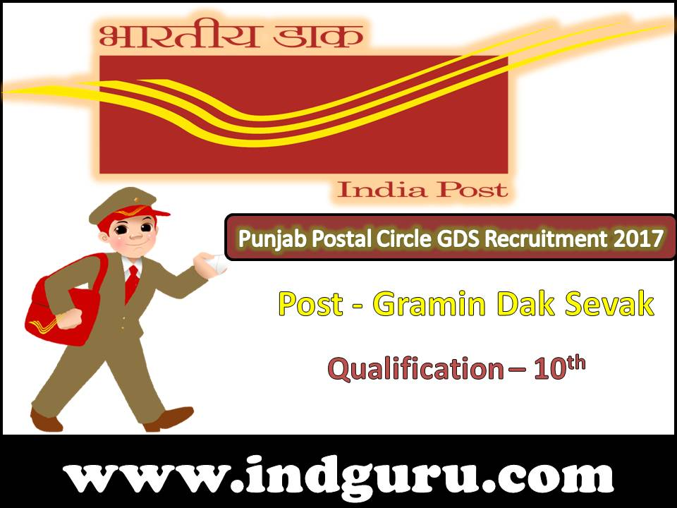 Punjab Postal Circle GDS Recruitment
