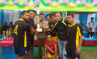 Inter Mungpoo Open Volleyball tournament winner Resep division