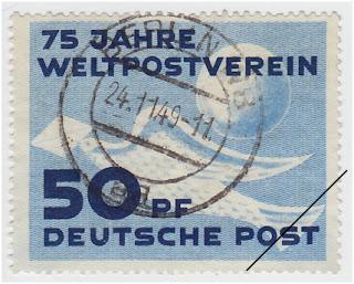Briefmarken DDR 1949