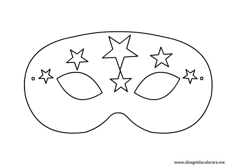 La borsa di mary poppins le maschere di carnevale for Immagini maschere carnevale da colorare