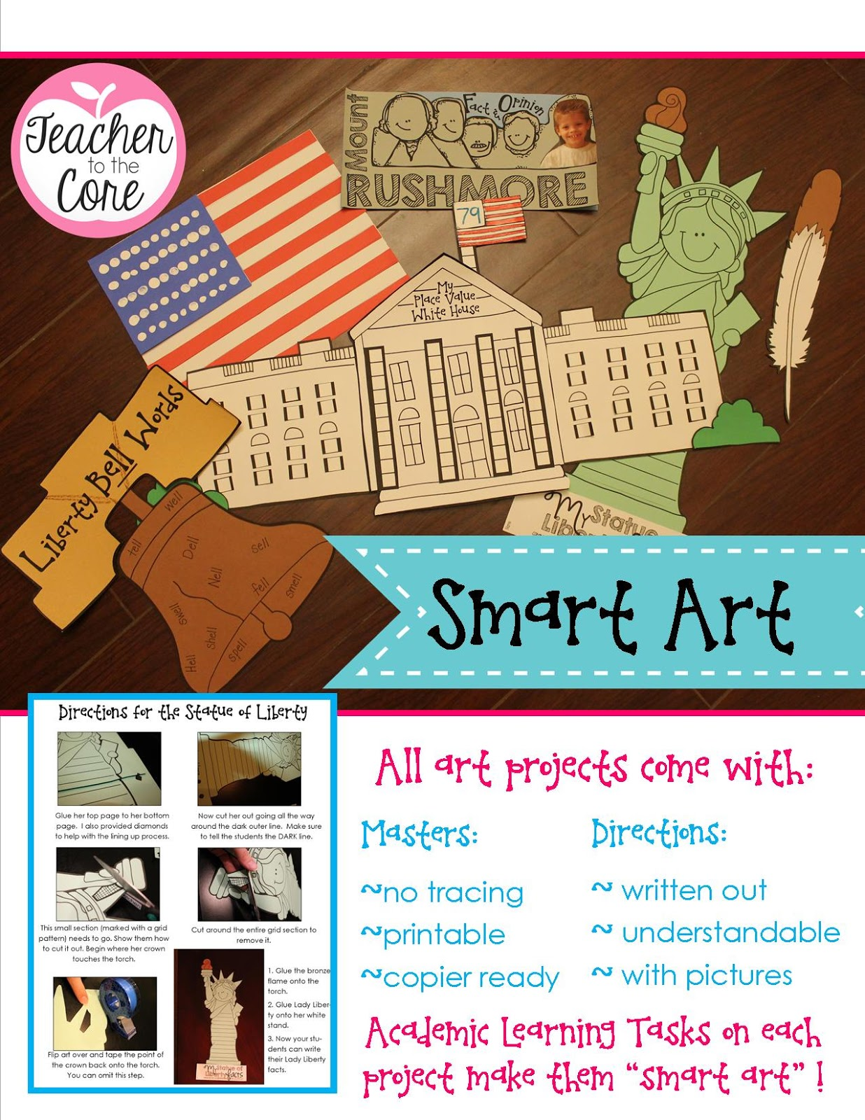 Teacher To The Core American Symbols