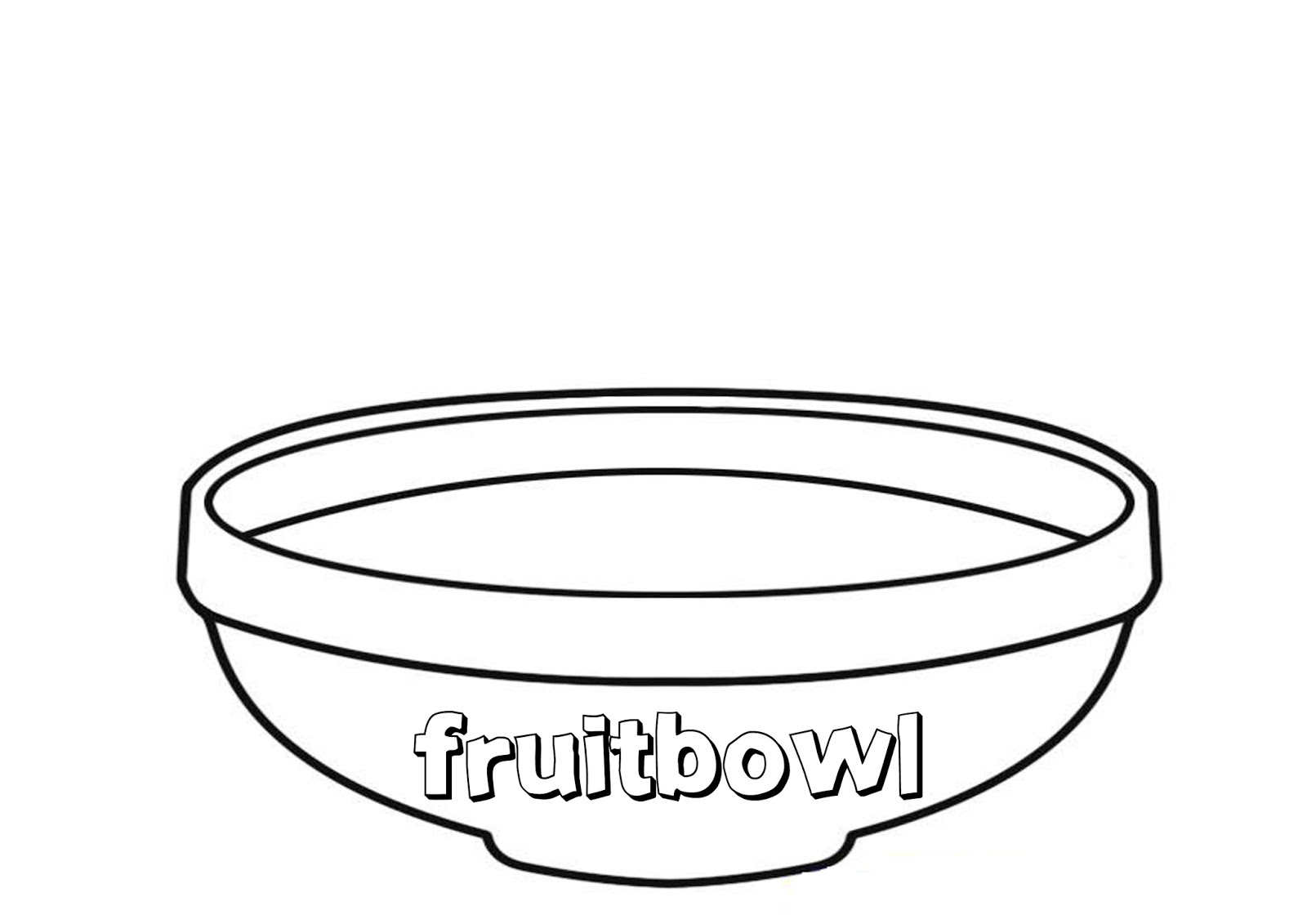 Art Projects For Kids Esl Fruit Bowl
