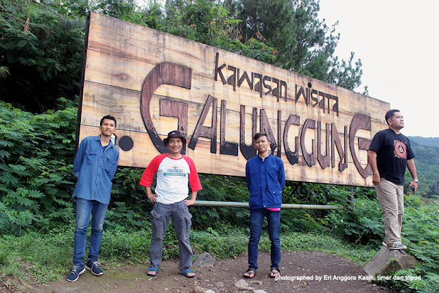 Kawasan Wisata Alam Gunung Galunggung.
