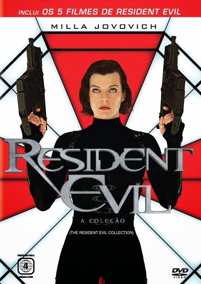Pentalogia - Resident Evil - Poster