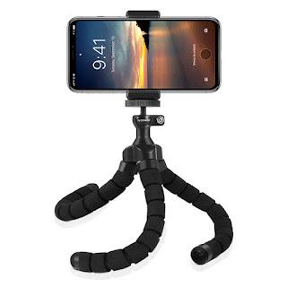 treppiede portatile supporto clip per telefono fotocamera on tenck