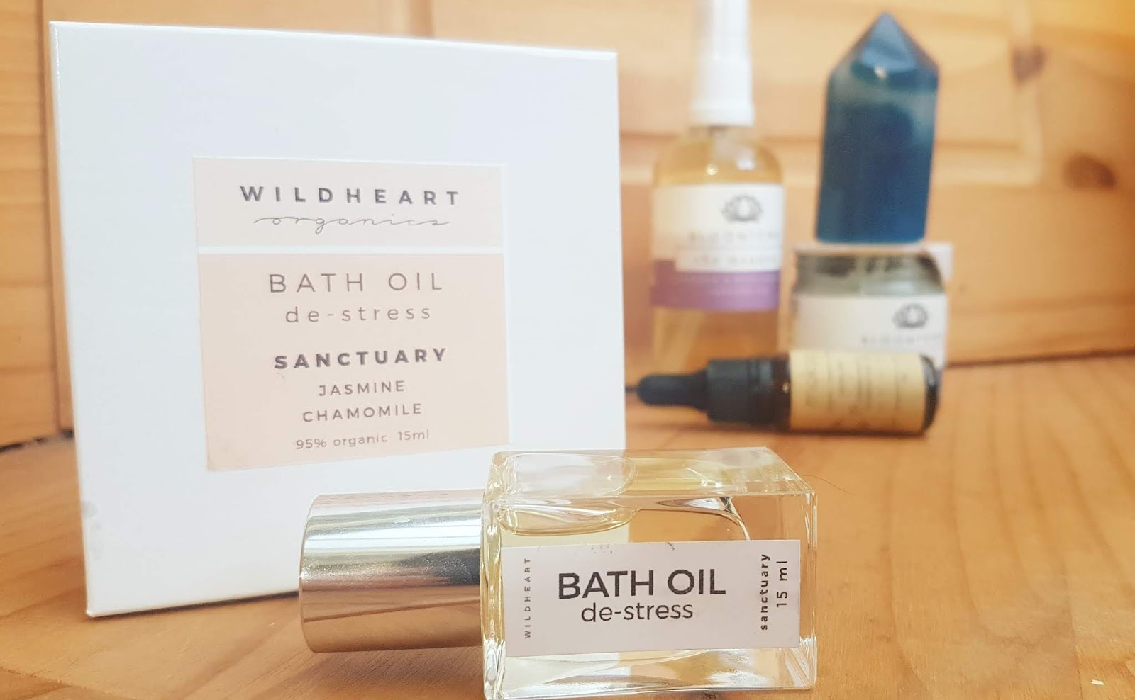 Wildheart Organics bath oil