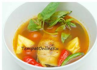 sup ikan kuwe lezat mantap
