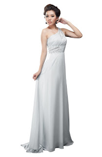 unique goddess long prom gowns 2013 for junior plus white