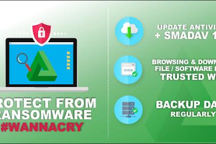 Antivirus SMADAV Kini Bisa Menangkal Virus Ransomware