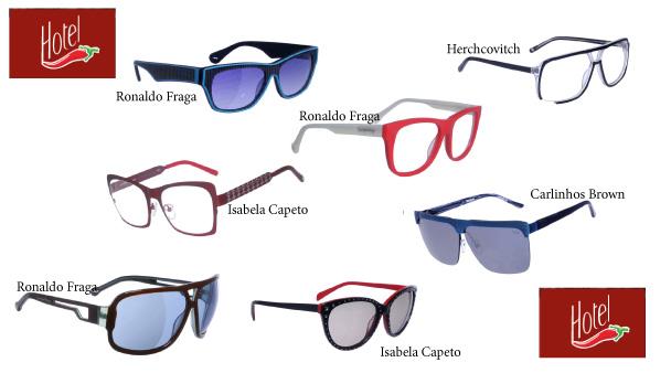 """da7e06f67 Ronaldo Fraga, por exemplo, construiu uma linha de óculos baseado numa  """"história"""" que se passa num hotel de Bogotá, na Colômbia; enquanto Isabela  Capeto ..."""