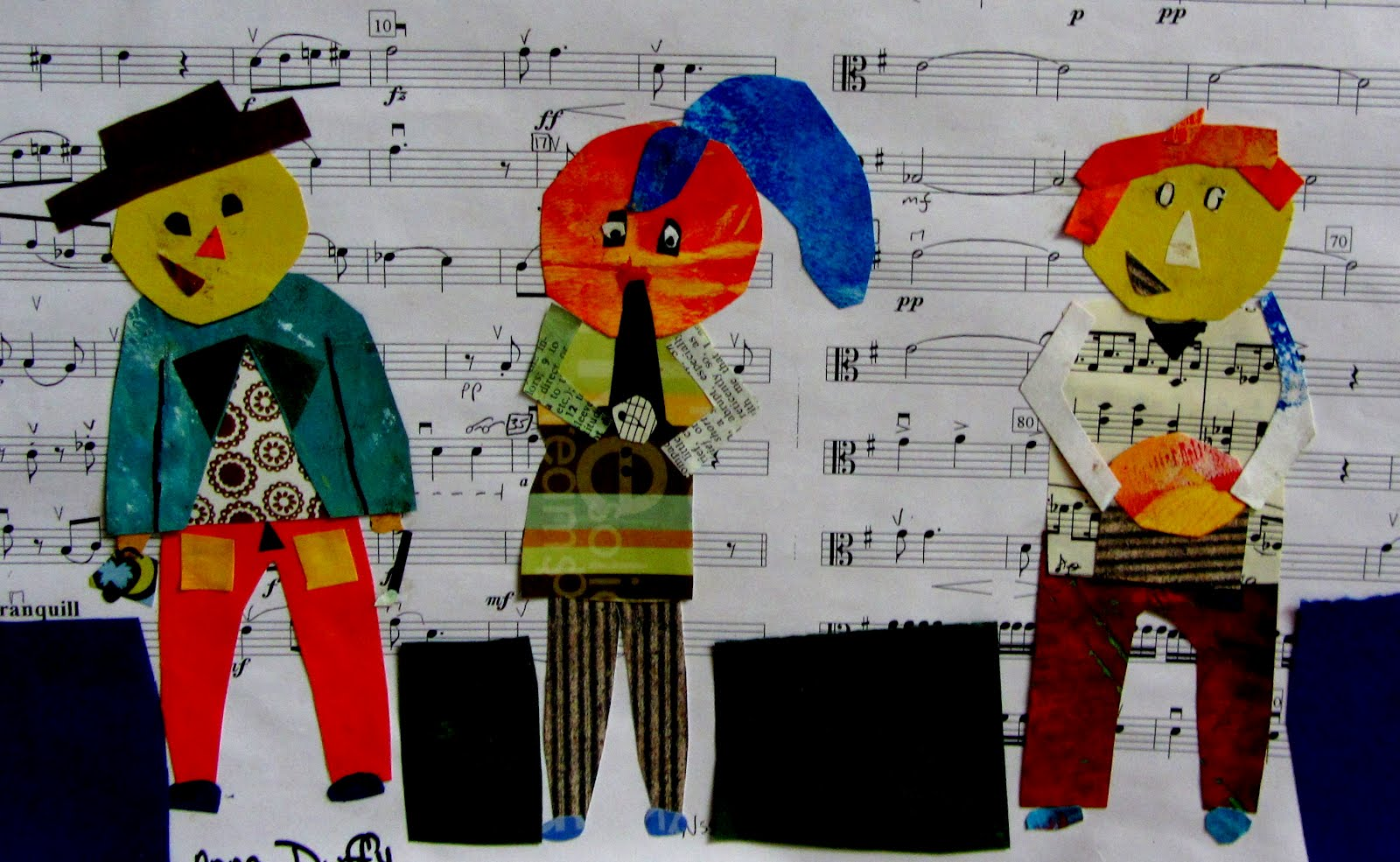 A Glimmer Of Light Picasso S Three Musicians