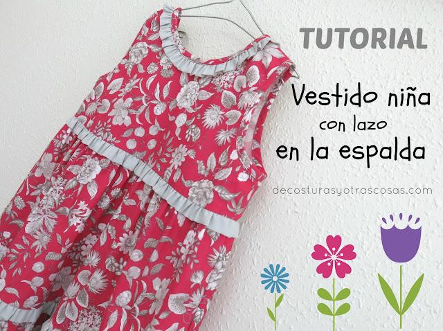 tutorial de costura vestido verano niña