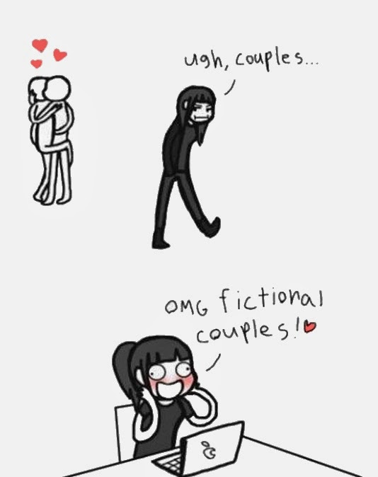FICTIONAL COUPLES
