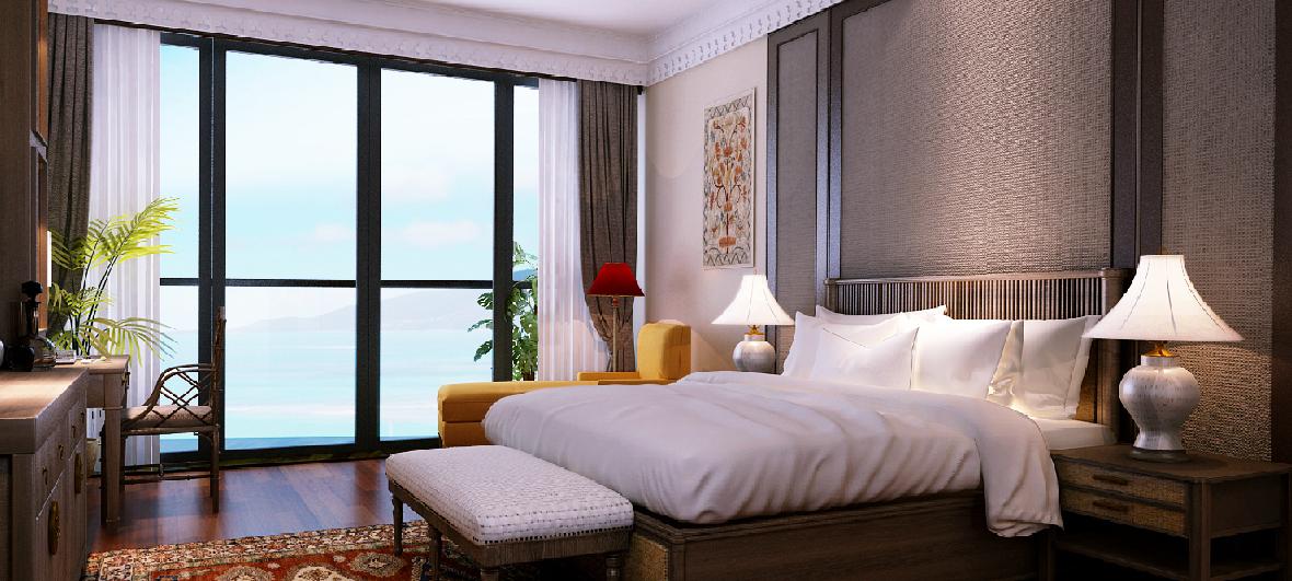 Hình ảnh căn hộ Beau Rivage Nha Trang
