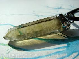 Smoky Citrine Crystal Pendant