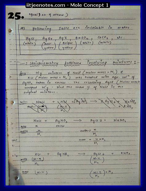 Mole Concept Notes8