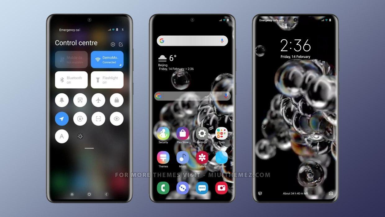 Samsung S20 MIUI 11 & MIUI 12 Theme