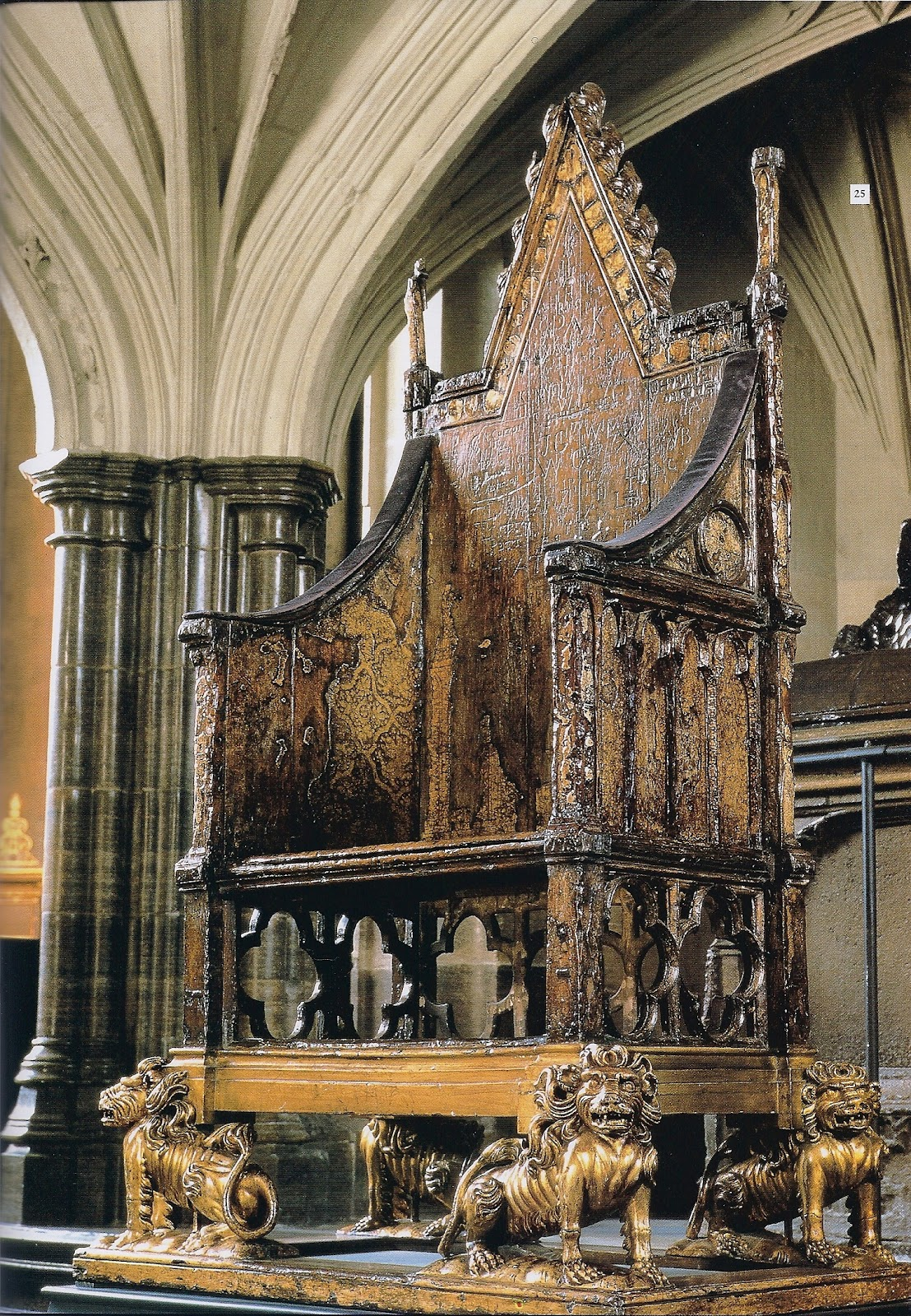 Chapel of Edward the Confessor | The Enchanted Manor |Westminster Abbey Throne